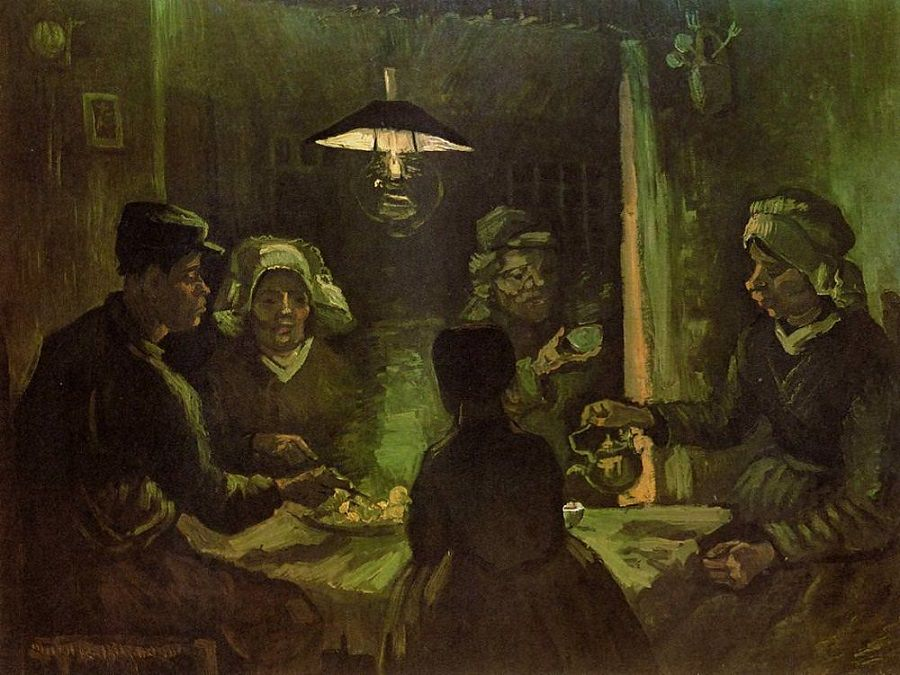 The Patato Eaters by Vincent van Gogh