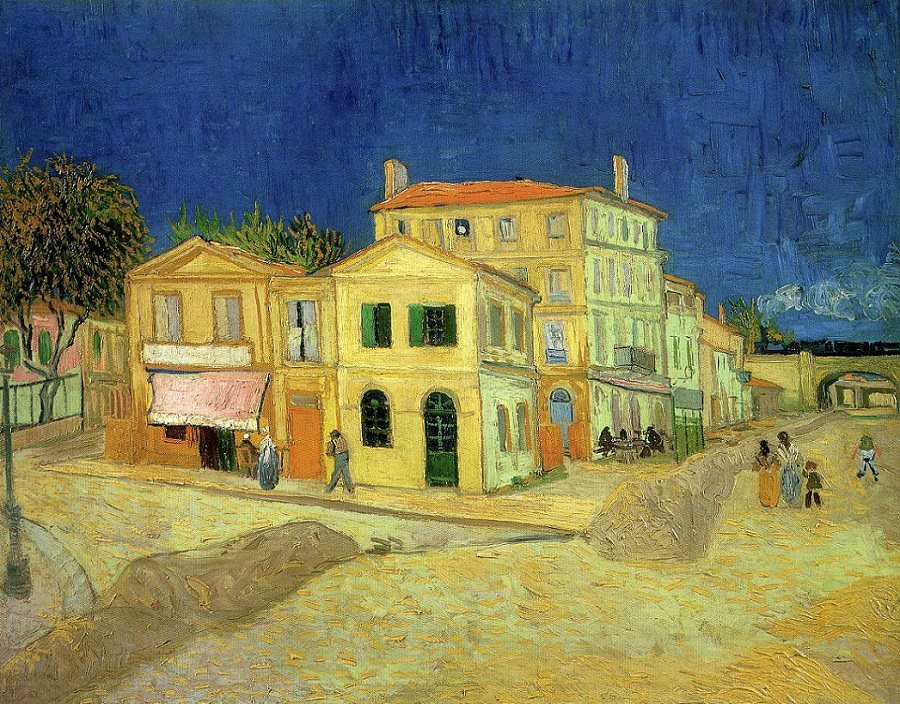 The Yellow House by Vincent van Gogh